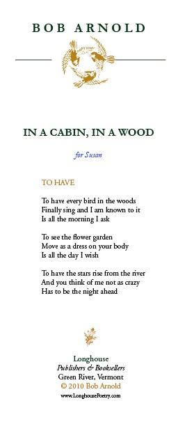 In A Cabin