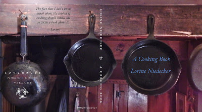 Lorine Niedecker A Cooking Book