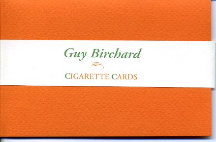 Cigarette Cards.
