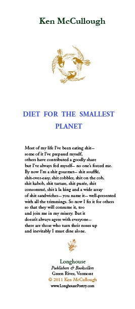 Diet For The Smallest Planet